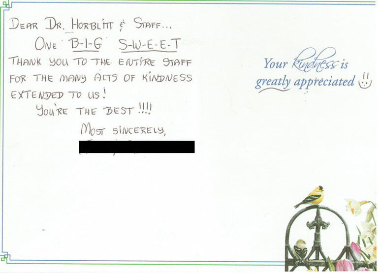 Patient Thank You Cards 5