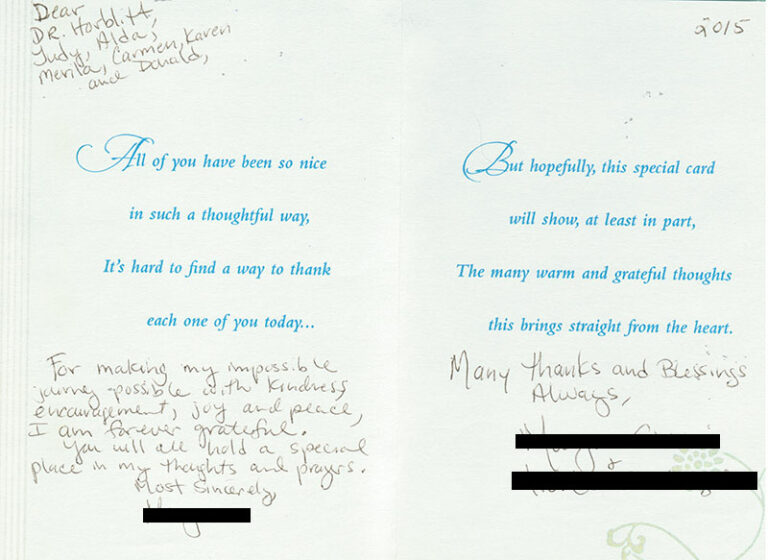 Patient Thank You Cards 7