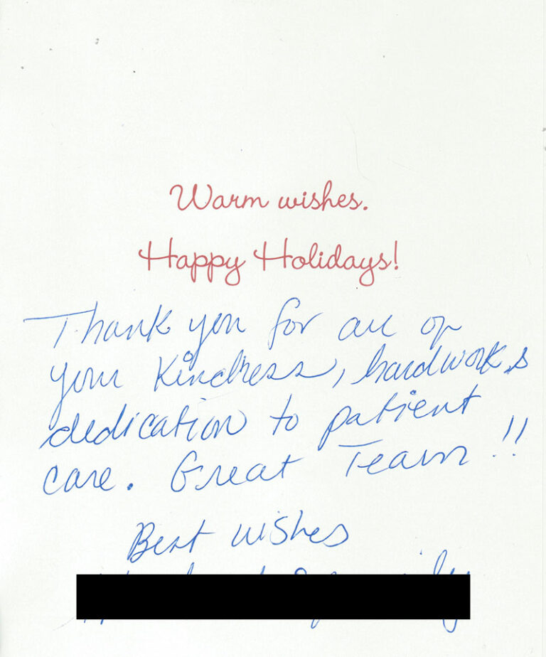 Patient Thank You Cards 1